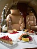 Abastecimiento privado del jet Foto de archivo libre de regalías