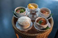 Abastecimiento tailandés de la comida Fotos de archivo