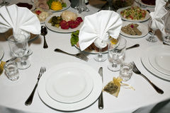 Abastecimiento y banquete Foto de archivo