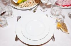 Abastecimiento y banquete Foto de archivo libre de regalías