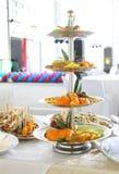 Abastecimiento y banquete Imagen de archivo libre de regalías