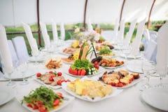 Abastecimiento y banquete Fotografía de archivo