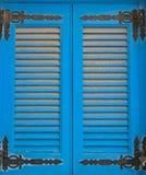 Abat-jour bleus du soleil de double-aile Image libre de droits