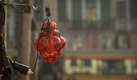 Abat-jour coloré par rubis Images libres de droits