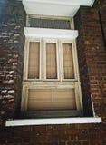 Abat-jour de fenêtre antiques Photographie stock