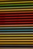 Abat-jour de fenêtre en métal de Colorfull Photographie stock libre de droits