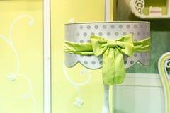 Abat-jour de luxe, couleurs vertes Image stock