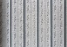Abat-jour de texture sur les fenêtres dans le bureau Image stock