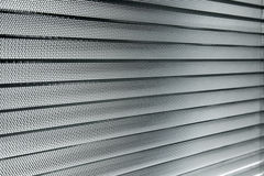 Abat-jour en aluminium du soleil Photos libres de droits
