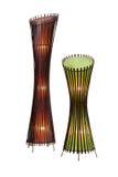 Abat-jour en bambou Photographie stock libre de droits