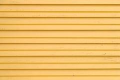 Abat-jour en bois de jaune Photographie stock