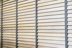 Abat-jour et fenêtre en bois Images libres de droits
