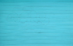 Abat-jour horizontaux bleus de volet de rouleau de Teal Photo stock