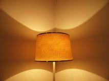 Abat-jour light. Abstract abat jour light on wall corner Stock Image