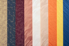 Abat-jour multicolores Image stock