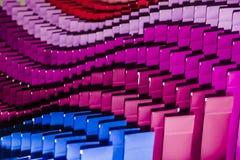Abat-jour multicolores de fond Images stock