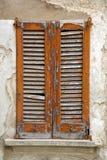 Abat-jour vénitiens abstraits de Cavaria Varèse Italie dans le béton Image libre de droits