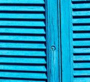 abat-jour vénitiens dans architecte de l'Europe Grèce de santorini le vieil Photo libre de droits