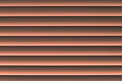 Abat-jour vénitiens de jalousie orangish grisâtre orange fine avec d doux Photos libres de droits