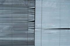 Abat-jour vénitiens en aluminium Photo libre de droits