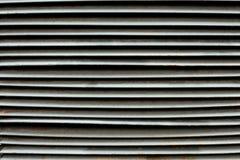 Abat-jour vénitiens en métal de vitrine comme fond Image libre de droits