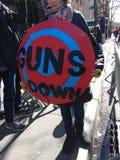 Abate a tiros, marzo por nuestras vidas, NYC, NY, los E.E.U.U. Fotos de archivo