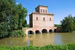 Abate Tower. Mesola. Emilia-Romagna. Italy. Stock Photo