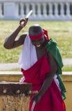 Abatimbo dobosze od Burundi, Afryka Fotografia Stock