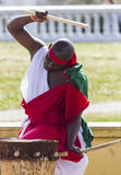 Abatimbo dobosze od Burundi, Afryka Zdjęcie Royalty Free