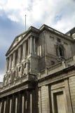 Abatimiento sobre el Banco de Inglaterra Imagen de archivo libre de regalías