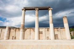 Abaton av Epidaurus, Grekland Royaltyfri Fotografi