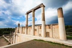 Abaton av Epidaurus, Grekland Royaltyfri Foto