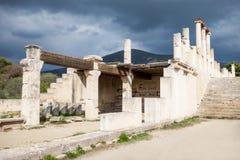 Abaton av Epidaurus, Grekland Royaltyfria Foton