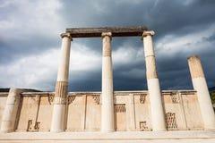Abaton of Epidaurus, Greece Stock Photo