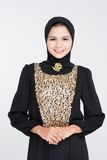 In abaya dress Royalty Free Stock Photos