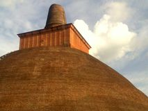 Abayagiriya en historisk plats, Sri Lanka royaltyfri fotografi