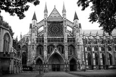 Abaye the Westminster in London, UK Royalty Free Stock Images