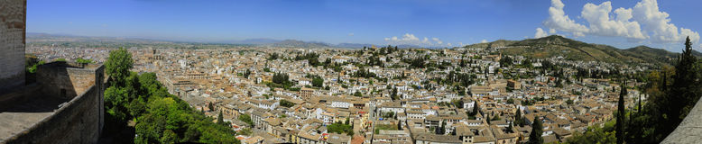 Abayzin district of Granada Stock Photos