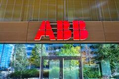ABB company logo on headquarters  building Royalty Free Stock Photography