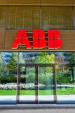 ABB company logo on headquarters  building Royalty Free Stock Photo
