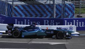 ABB Formula-E Race in Zürich: The first race since 64 years in royalty free stock photography