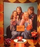 An ABBA das Museum in Stockholm Stockfotos