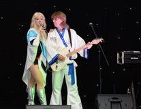 ABBA-hedersgåvamusikband Royaltyfria Bilder