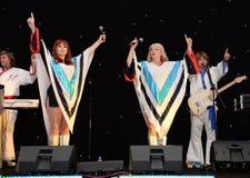 ABBA-hedersgåvamusikband Royaltyfria Foton