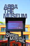 ABBA Museum Royalty Free Stock Images
