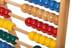 Abbaco con le palle di legno Fotografia Stock