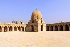 Abóbada das abluções de Ibn Tulun Foto de Stock Royalty Free