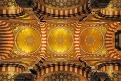 Abóbada de Notre Dame de la classe Fotografia de Stock Royalty Free
