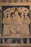 Abbadia di San Salvatore Siena Tuscany Italy Royaltyfri Fotografi