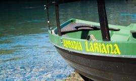 Abbadia Lariana fartyg Arkivbilder